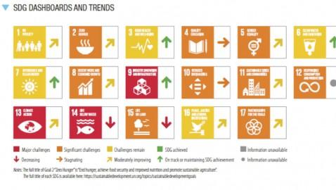 Rapporto Sviluppo Sostenibile 2021. Il Decennio d'Azione per gli Obiettivi di Sviluppo Sostenibile.