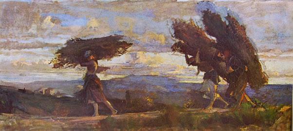 Boscaiole, Cristiano Banti