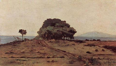 Boschetto presso il mare, Giovanni Fattori