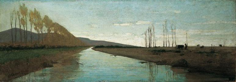 Canale della Maremma, Vincenzo Cabianca