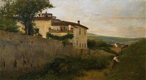 Casa Batelli a Piagentina, Silvestro Lega