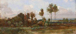 Paesaggio a Castiglioncello, Giovanni Costa detto Nino