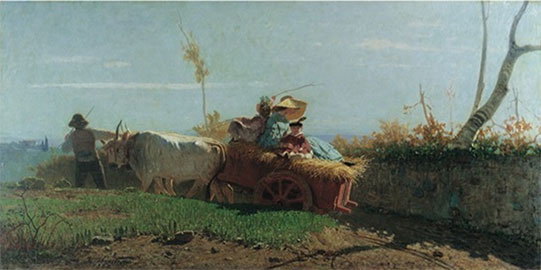 Ritorno dai campi, Vincenzo Cabianca