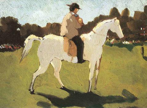 Uomo a cavallo, Vito D'Ancona