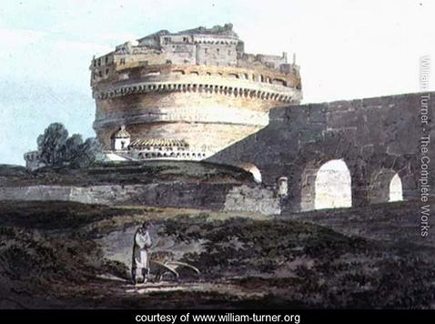 Castle of San Angelo, Rome, William Turner