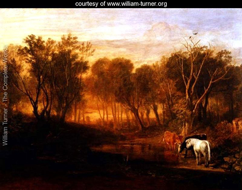 The Forest of Bere, William Turner