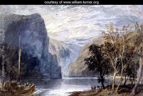 The Lorelei Rock, William Turner