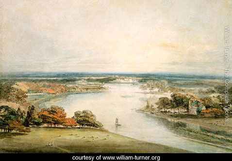 The Thames from Richmond, William Turner