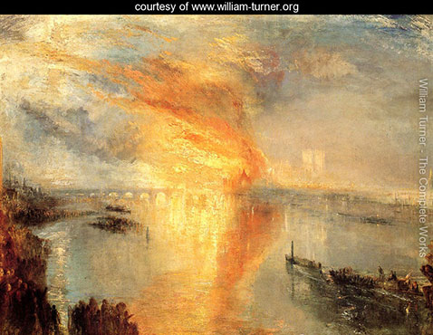 The Burning of the Houses of Parliament 2, William Turner