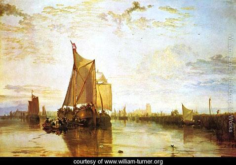 Dort - The Dort Packet Boat From Rotterdam Bacalmed, William Turner