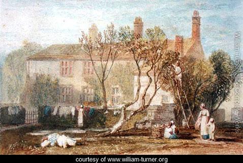 Steeton Manor House, near Farnley, William Turner