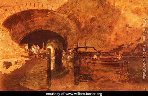 A Canal Tunnel Near Leeds, William Turner