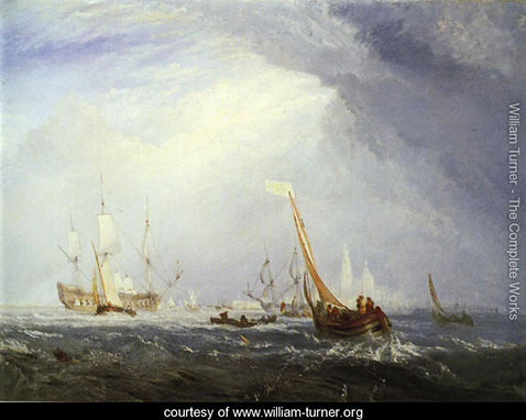 Antwerp Van Goyen Looking Out for a Subject, William Turner