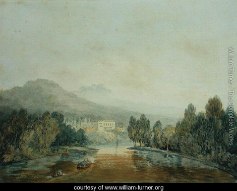 Villa Salviati on the Arno, William Turner