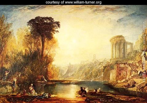Landscape Composition of Tivoli,  William Turner