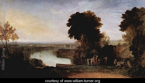 Thomson's Aolsharfe, William Turner