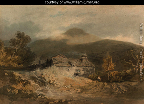 A mill in North Wales, William Turner