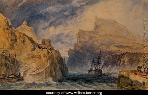 Boscastle Cornwall, William Turner