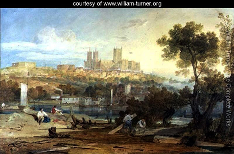 View of Lincoln, William Turner