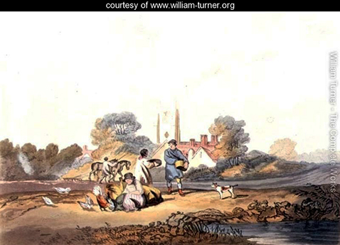 Autumn sowing grain, William Turner