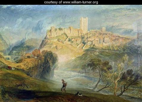 Richmond, Yorkshire,  William Turner