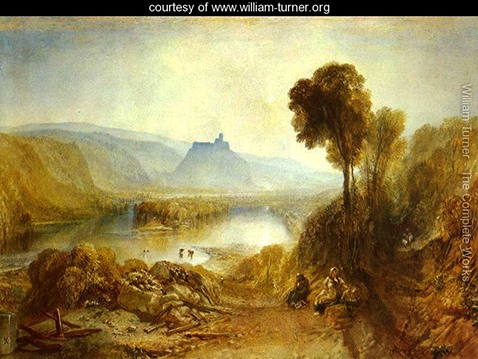 Prudhoe Castle Northumberland, William Turner