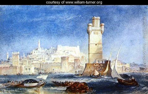 Rhodes - for Lord Byron's Works, William Turner