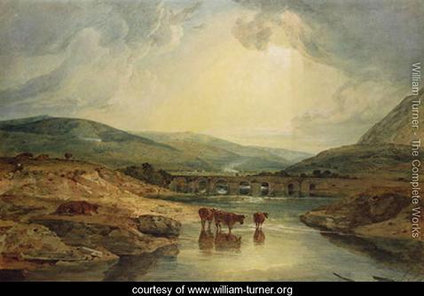 Bridge over the Usk, William Turner