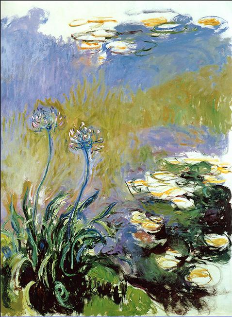 Agapanthus - Claude Monet