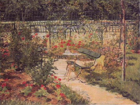 Bench - Edouard Manet