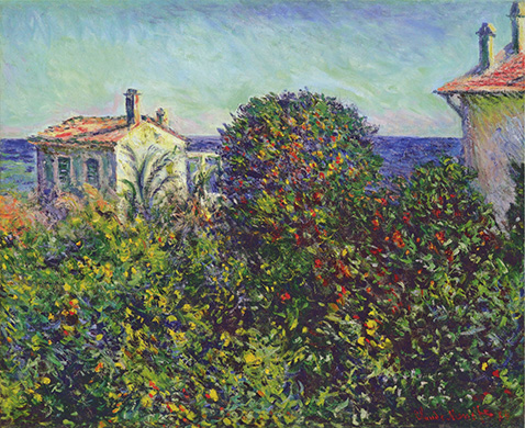 Bordighera the House of Gardener - Claude Monet