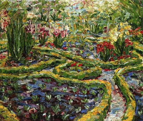 Boxwood Garden - Emil Nolde