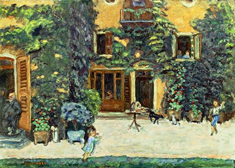 Children in a Garden - Pierre Bonnard