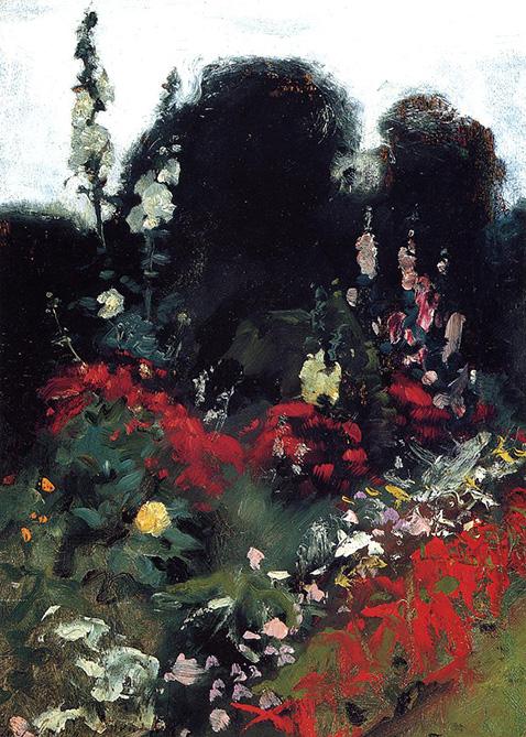 Corner of a Garden - John Singer Sargent