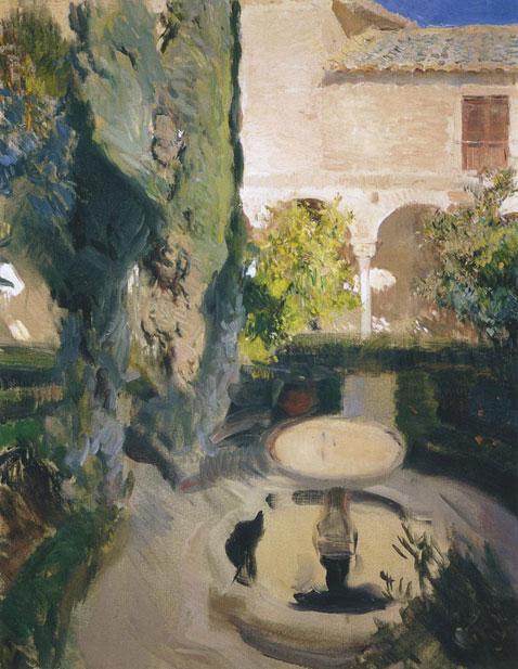 Garden Of Lindaraja - Joaquin Sorolla
