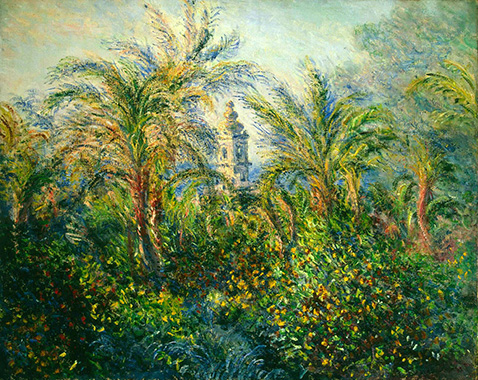 Garden in Bordighera Impression of Morning - Claude Monet