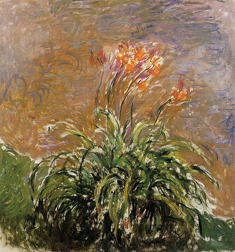 Hamerocallis - Claude Monet