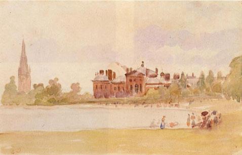 Kensington Gardens - Camille Pissarro
