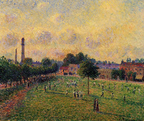 Kew Gardens - Camille Pissarro