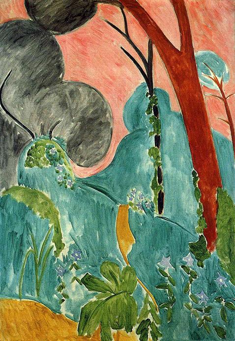 Moroccan Garden - Henri Matisse