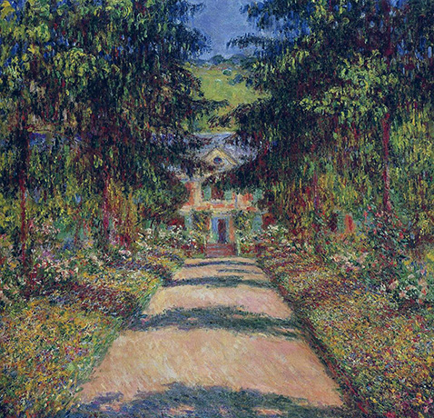 Pathway in Monet's Garden at Giverny - Claude Monet - 1900