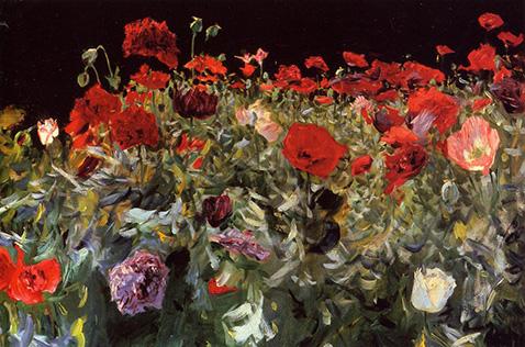 Poppies - John Singer Sargent