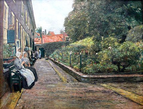 Stevenstift in Leiden - Max Liebermann