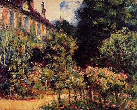 The Artist's House at Giverny - Claude Monet