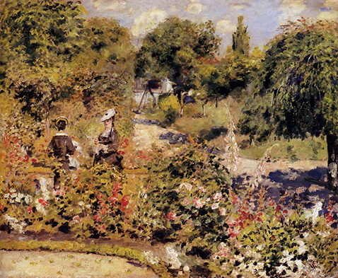 The Garden at Fontenay - Auguste Renoir