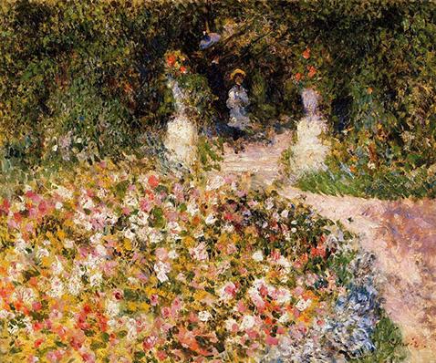 The Garden - Auguste Renoir