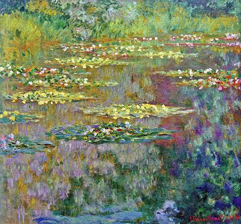 Water Lilies - Claude Monet - 1904