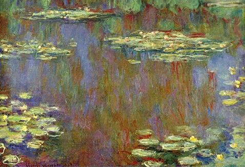 Water Lilies - Claude Monet - 1907