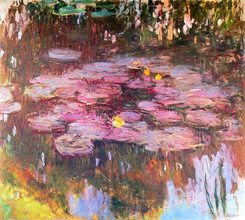 Water Lilies - Claude Monet - 1917