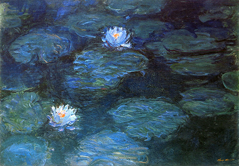 Water Lilies - Claude Monet - 1899